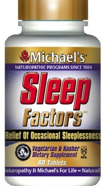 DROPPED: Michael's Naturopathic Programs - Sleep Factors - 60 Tablets Formerly Slumber Factors