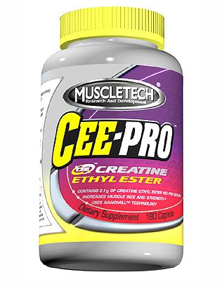 DROPPED: Muscletech Products - Cee-Pro - 180 Caplets