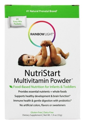 Rainbow Light - NutriStart Multivitamin Powder - 25 Packet(s)