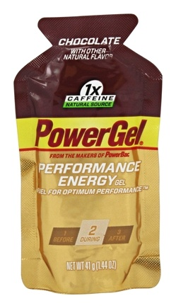 DROPPED: Powerbar - Energy Gel Chocolate - 1.44 oz. CLEARANCED PRICED