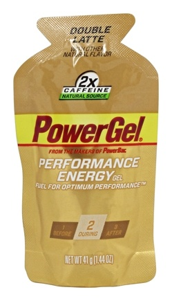 DROPPED: Powerbar - Energy Gel Double Latte - 1.44 oz.
