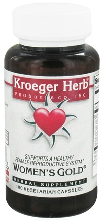 DROPPED: Kroeger Herbs - Herbal Combination Women's Gold - 100 Vegetarian Capsules