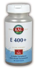 DROPPED: Kal - E-400 + mixed Tocopherol - 90 Softgels