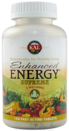 DROPPED: Kal - Enhanced Energy Supreme - 150 Tablets