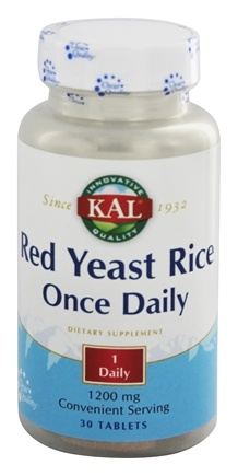 DROPPED: Kal - Red Yeast Rice Once Daily - 30 Tablets