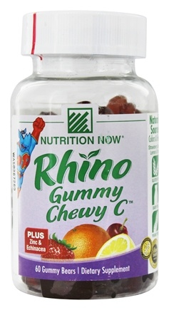 Nutrition Now - Rhino Chewy C Plus Echinacea - 60 Chew(s)