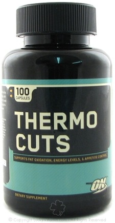 DROPPED: Optimum Nutrition - Thermo Cuts - 100 Capsules