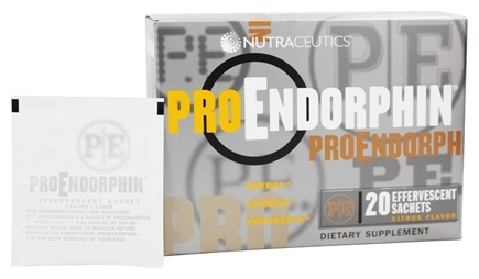 Nutraceutics - Pro Endorphin Citrus Flavor - 20 Packet(s)