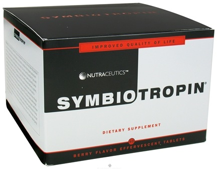 DROPPED: Nutraceutics - Symbiotropin Berry Flavor - 40 Tablets