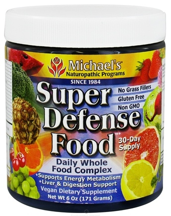 DROPPED: Michael's Naturopathic Programs - Super Defense Food Daily Whole Food Complex - 6 oz.