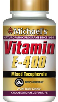 DROPPED: Michael's Naturopathic Programs - Vitamin E 400 IU - 50 Softgels
