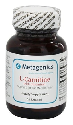DROPPED: Metagenics - L-Carnitine with Chromium - 30 Tablets
