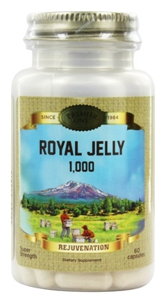 Premier One - Royal Jelly 1000 - 60 Capsules