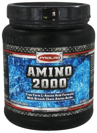 DROPPED: Prolab Nutrition - Amino 2000 - 325 Tablets CLEARANCE PRICED