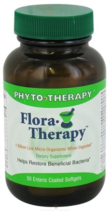 DROPPED: Phyto Therapy - Flora-Therapy Rx - 50 Softgels CLEARANCE PRICED
