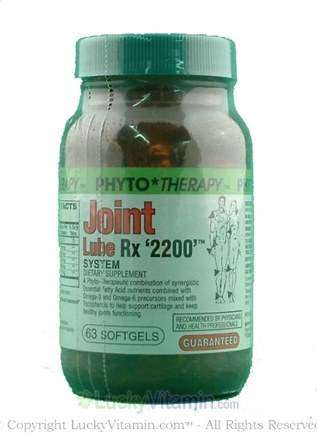 DROPPED: Phyto Therapy - Joint Lube 2200 Rx - 63 Softgels