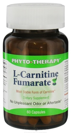 DROPPED: Phyto Therapy - L-Carnitine Fumarate 250 mg. - 60 Capsules