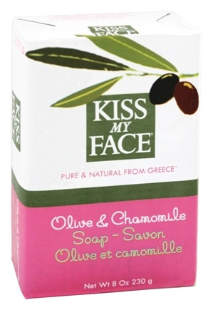 Kiss My Face - Bar Soap Olive & Chamomile - 8 oz.
