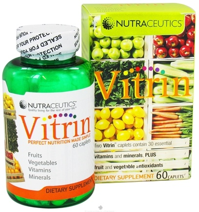 DROPPED: Nutraceutics - Vitrin - 60 Capsules