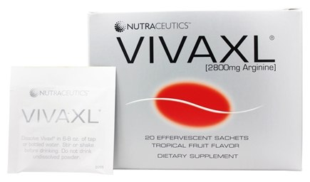 Nutraceutics - Vivaxl Intensive Tropical Punch Flavor 2800 mg. - 20 Packet(s)