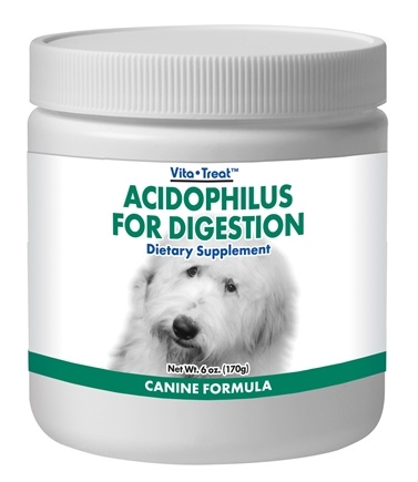 DROPPED: Nutrition Now - Acidophilus For Digestion Powder: Dog & Puppy - 6 oz.