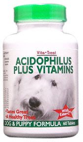 DROPPED: Nutrition Now - Acidophiolis+Vitamins for Dogs Canine - 60 Tablets