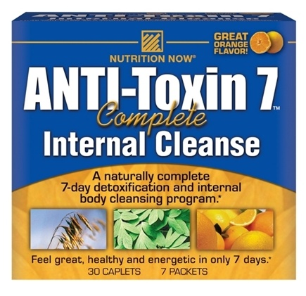 DROPPED: Nutrition Now - ANTI-Toxin 7 Complete Internal Cleanse Kit - CLEARANCE PRICED