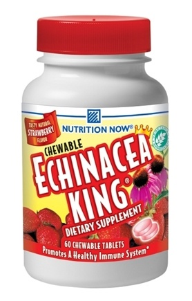DROPPED: Nutrition Now - Echinacea King Strawberry - 60 Chewables