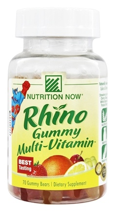 Nutrition Now - Rhino Gummy Bear Vites - 70 Gummies