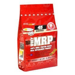 DROPPED: Optimum Nutrition - Whey MRP 100% Whey Protein Based Meal Replacement Product Strawberry Cream - 7.62 lbs.
