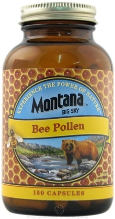 DROPPED: Montana Naturals - Bee Pollen 580 mg. - 150 Capsules CLEARANCE PRICED