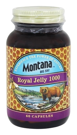Montana Naturals - Royal Jelly 1000 mg. - 60 Capsules