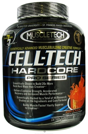 DROPPED: Muscletech Products - Cell-Tech Hardcore Pro Series Orange - 6.6 lbs. CLEARANCE PRICED