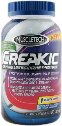 DROPPED: Muscletech Products - Creakic - 180 Caplets