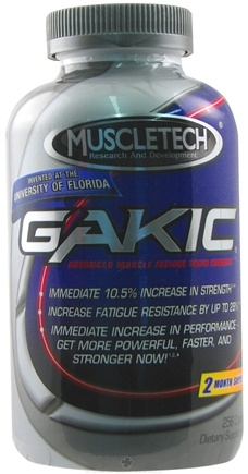 DROPPED: Muscletech Products - Gakic Advanced - 256 Capsules