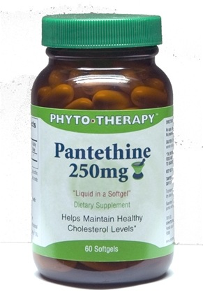 DROPPED: Phyto Therapy - Pantethine Hydrosoluble - 60 Softgels