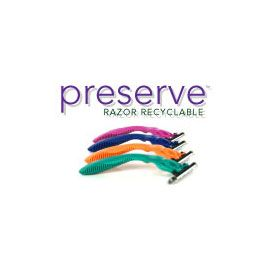DROPPED: Preserve - Recyclable Razor for Women and Men 4 Razors