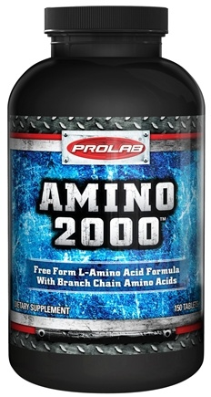 DROPPED: Prolab Nutrition - Amino 2000 - 150 Tablets CLEARANCE PRICED