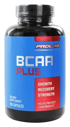 DROPPED: Prolab Nutrition - BCAA Plus - 180 Capsules