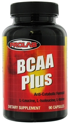 DROPPED: Prolab Nutrition - BCAA Plus Caps - 90 Capsules