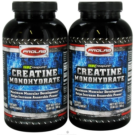 DROPPED: Prolab Nutrition - Creatine Monohydrate Powder Twin Pack - CLEARANCE PRICED