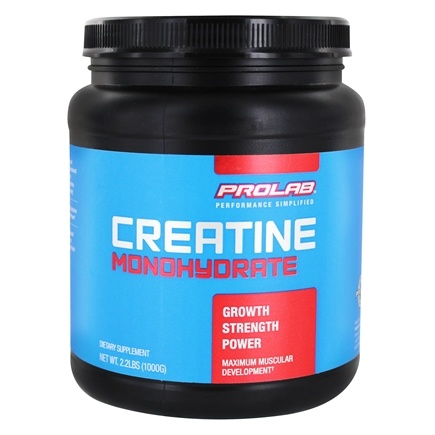 DROPPED: Prolab Nutrition - Creatine Monohydrate Powder - 2.2 lbs. CLEARANCED PRICED
