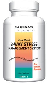 DROPPED: Rainbow Light - 3-Way Stress System - 180 Tablets