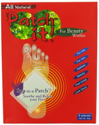 DROPPED: NutriWorks - Patch-it! For Beauty Within - All Natural Spa-in-a-Patch - 6 Piece(s)