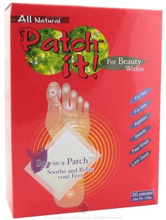 DROPPED: NutriWorks - Patch-it! For Beauty Within -Detox Patches - 20 Piece(s)