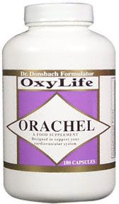 DROPPED: OxyLife Products - Orachel-Cardio - 180 Capsules