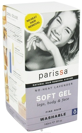DROPPED: Parissa - No-Heat Soft Gel Natural Hair Removal System Lavender - 5 oz. CLEARANCE PRICED
