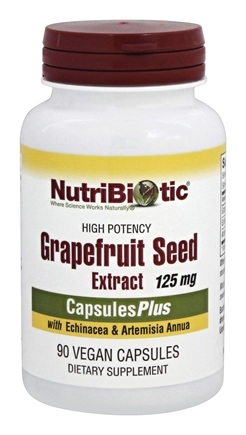 Nutribiotic - High Potency Grapefruit Seed Extract (GSE) 125 mg. - 90 Capsules