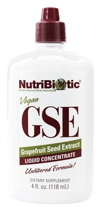 Nutribiotic - GSE - Grapefruit Seed Extract Liquid Concentrate - 4 oz.