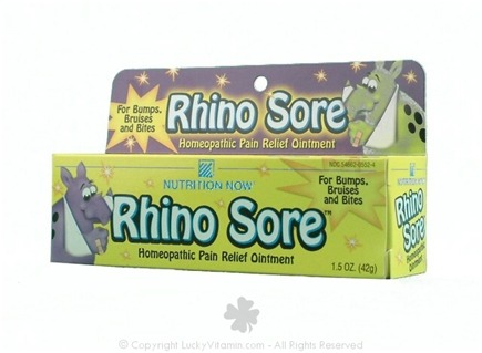 DROPPED: Nutrition Now - Rhino Sore Homepathic Pain Relief Ointment - 1.5 oz.